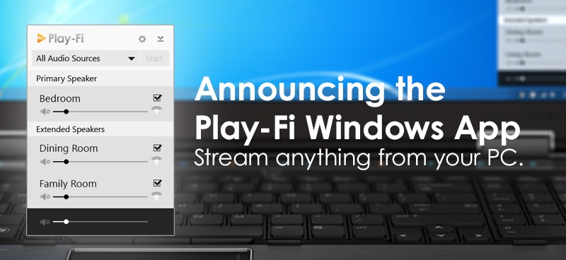 Play-Fi now on Windows PCs